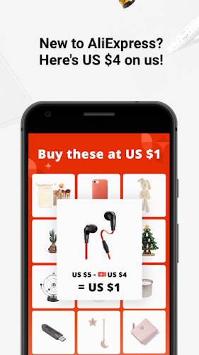 AliExpress Shopping Android App Screenshot