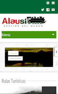 Turismo Alausí - screenshot
