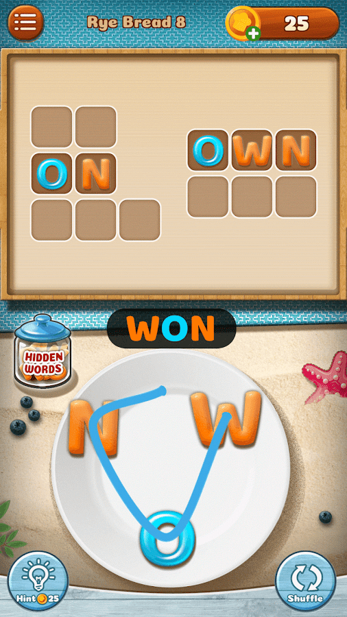 Word Puzzle - Cookies Jumble Screenshot 16