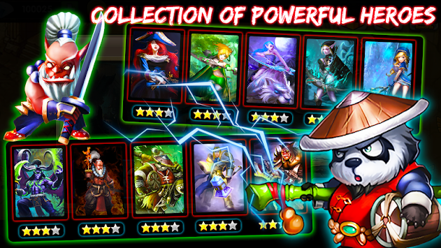 Defender Heroes: Castle Defense TD APK screenshot thumbnail 2