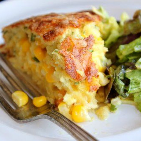 Cheddar and Sweet Corn Spoonbread