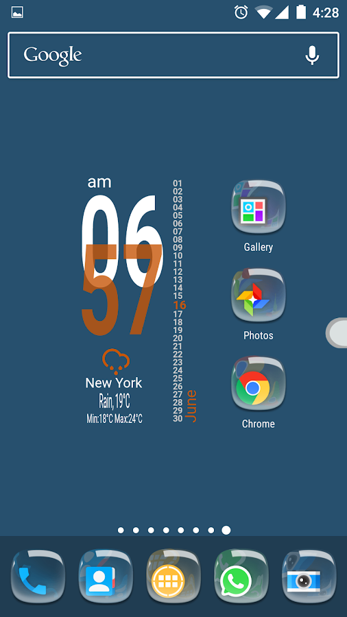 Pebbles Icon Pack Screenshot 3