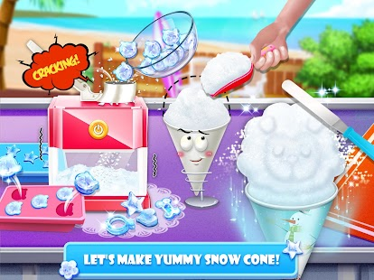 Free Snow Cone Maker - Frozen Foods APK for Windows 8