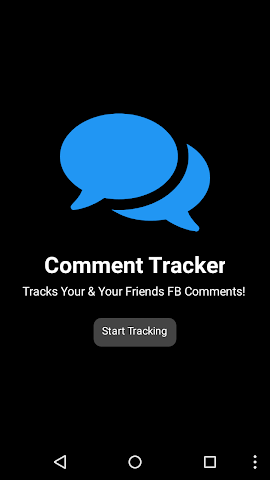 android Comment Tracker Screenshot 0