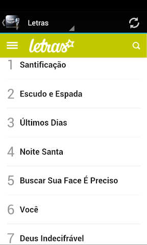 android Elaine Martins Musica & Letras Screenshot 1