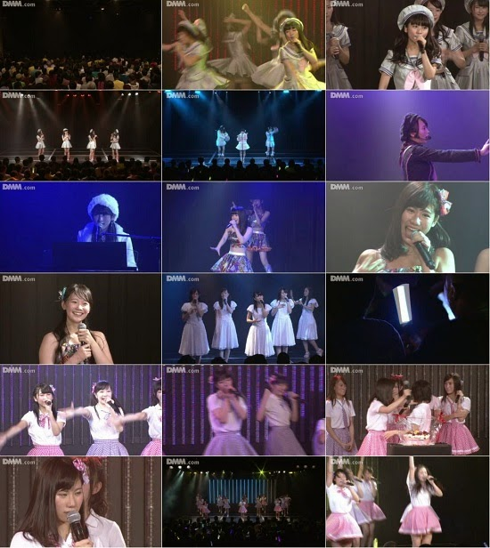 (LIVE)(公演) NMB48 チーム研究生 新公演 石田優美の生誕祭 141102