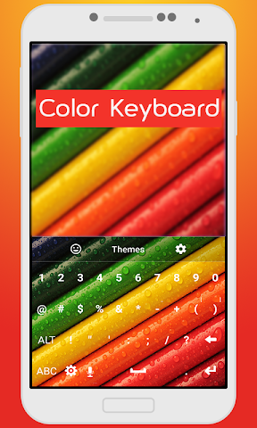 android Color Keyboard For Kids Screenshot 2