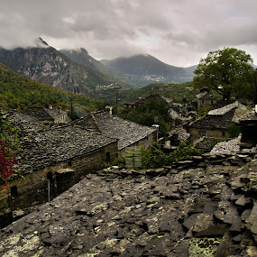 Zagorochoria, Greece by Paschalis Angelopoulos - Landscapes Travel ( zagorochoria, village, ioanina, greece, papigko, zagori, rooftops,  )