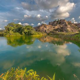 Guar Petai by Lim Keng - Landscapes Mountains & Hills