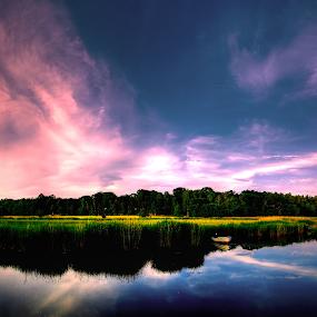 The Beauty of Art by Dennis d'Soulz - Landscapes Sunsets & Sunrises