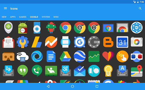 Pure Icon Pack - Beta- screenshot thumbnail