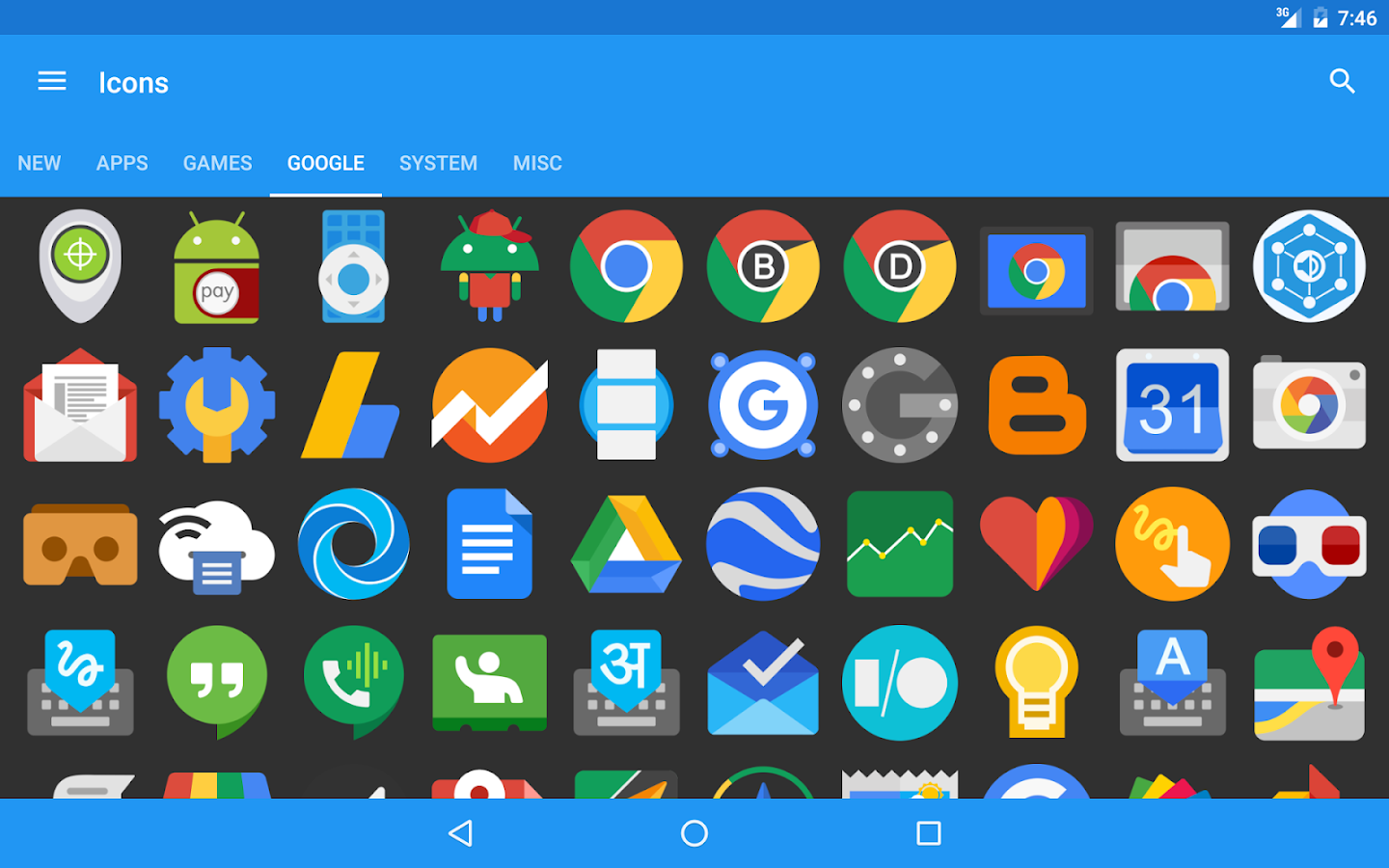 Pure Icon Pack Screenshot 16