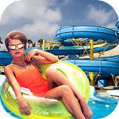 Game Waterpark Xtreme Ride Sim 2016 APK for Kindle