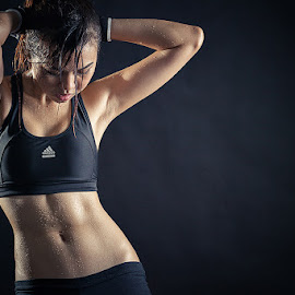 by Nalson Chong - Sports & Fitness Fitness ( fitness, lady, people, portrait )