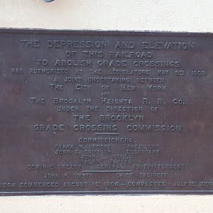 The Depression and Elevation of this railroad to abolish grade crossings was authorized by the Legislature May 9th, 1903. A joint undertaking between the City Of New York and the Brooklyn Heights ...