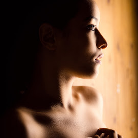 Lola by Amine Fassi - People Fashion ( fashion, aminefassi, woman, windowlight, portrait )