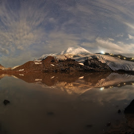 by Александр Агабабаев - Landscapes Starscapes ( reflection, mountain, lake, long exposure, landscape )