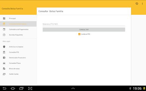 Consulta Bolsa Família for Lollipop - Android 5.0