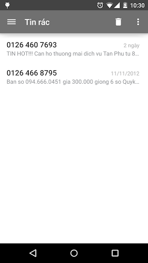 Laban SMS: spam blocker screenshot 6
