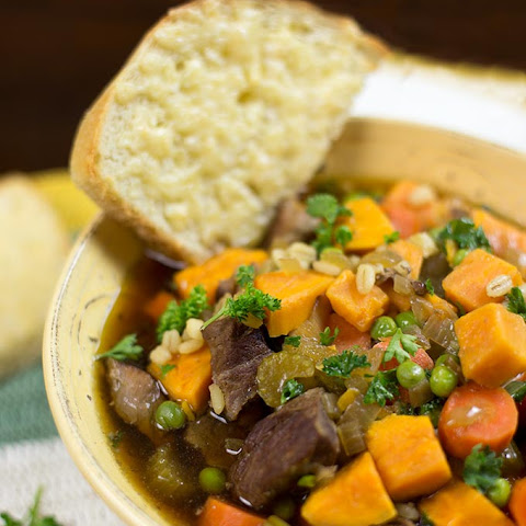 Crockpot Beef and Barley Stew