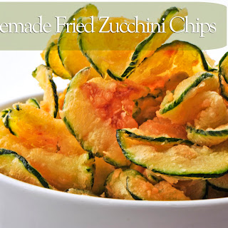 Homemade Fried Zucchini Chips