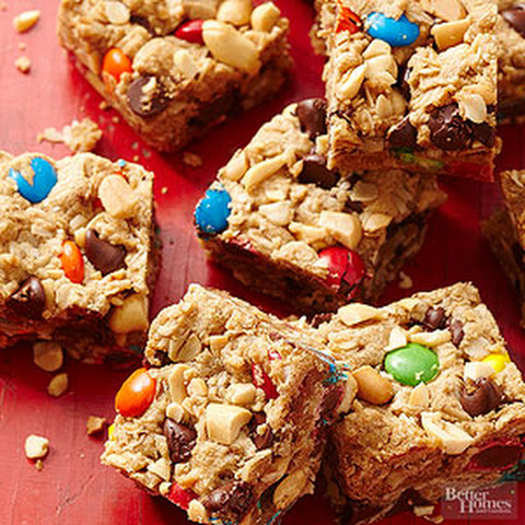 Easy Monster Cookie Bars