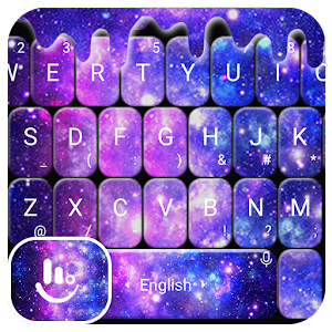 Liquid Galaxy Droplets Keyboard Theme For PC / Windows 7/8/10 / Mac – Free Download