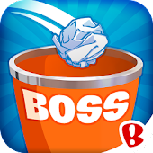 Paper Toss Boss APK for Bluestacks