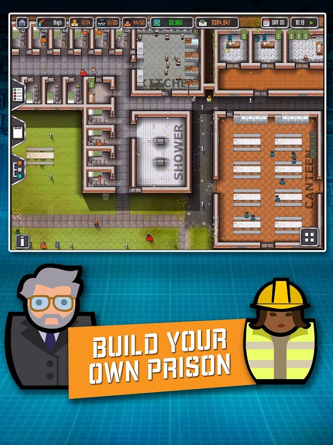 Prison Architect: Mobile Screenshot 0