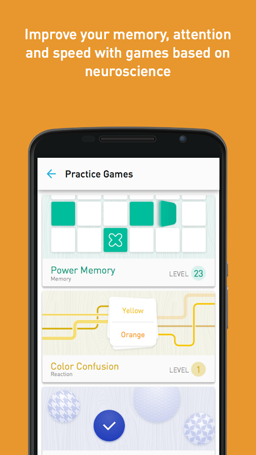 Memorado - Brain Games Screenshot 1
