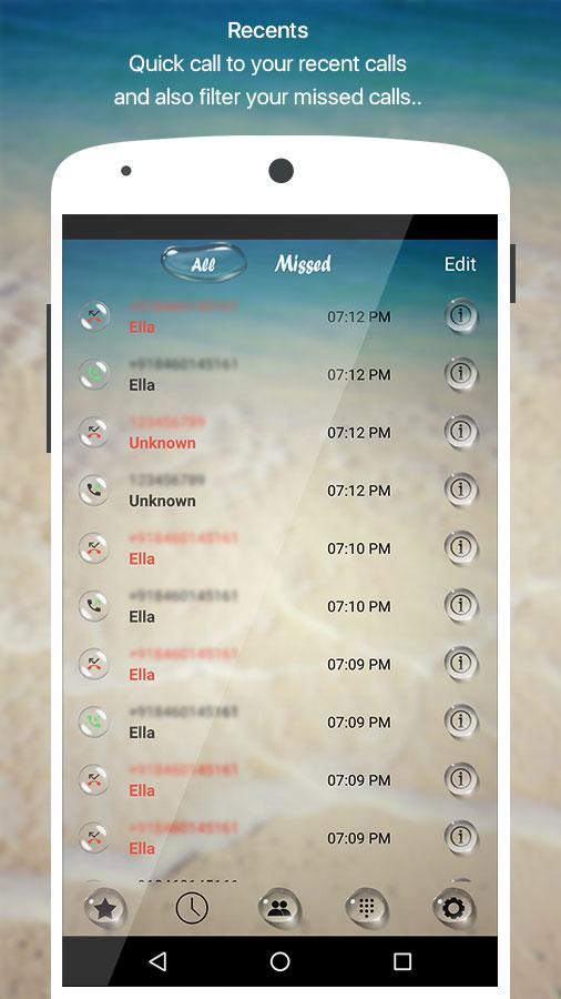 PIP Bubble Dialer Pro Screenshot 4