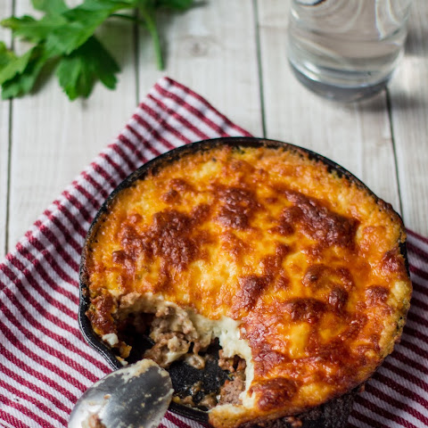 Beef and Mashed Potatoes Casserole (Brazilian Escondidinho)