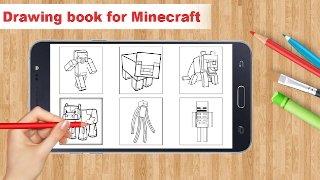 Learn To Draw Minecraft By Aston Developer APK screenshot thumbnail 2