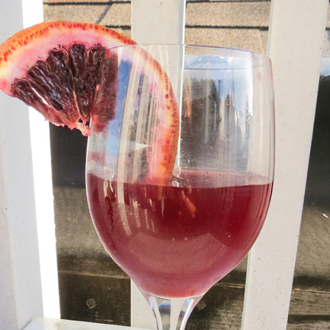 Blood Orange-Manischewitz Cocktail
