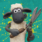 Shaun the Sheep Top Knot Salon Icon