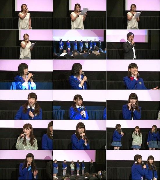 (TV-Variety)(720p) YNN [NMB48チャンネル] 「NMB48げいにん!THE MOVIE リターンズ 卒業!お笑い青春ガールズ!! 新たなる旅立ち」初日舞台挨拶 140730