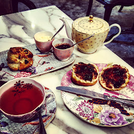 by Alexei Zarya - Food & Drink Plated Food