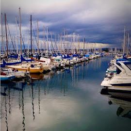 by Brandy Digre - Transportation Boats