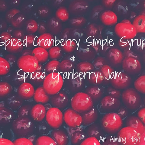 Spiced Cranberry Simple Syrup