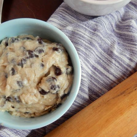 Egg-Free Dairy-Free Edible Chocolate Chip Cookie Dough