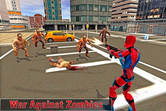 Super Spider Zombie Battle apk screenshot