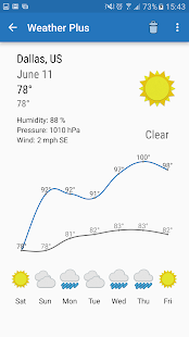 Weather Plus Free - screenshot