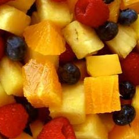 Hawaiian Fresh Fruit Salad