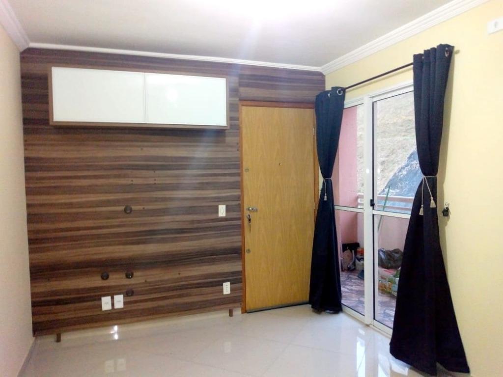 Apartamento com 2 dormitórios à venda, 49 m² por R$ 160.000,00 - Jardim Ísis - Cotia/SP