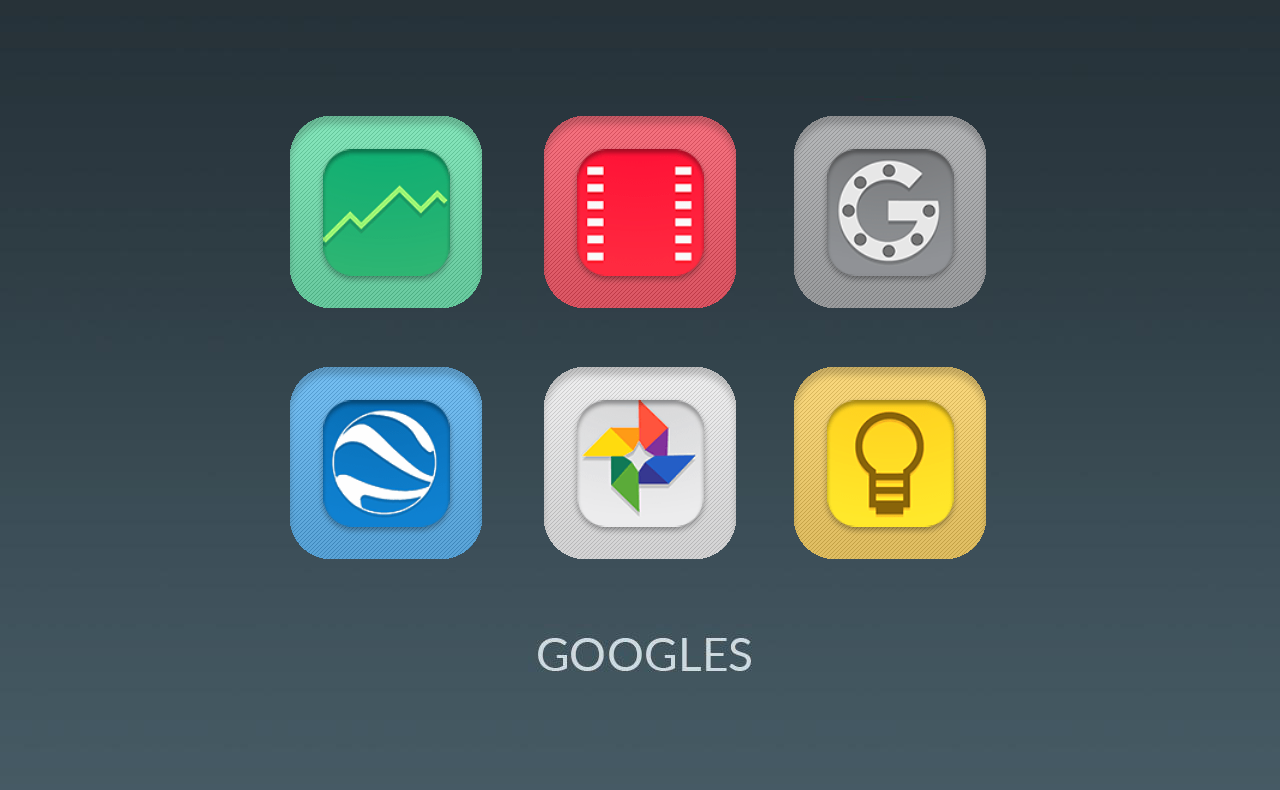 Harriet UI - Flat Icon Pack Screenshot 2