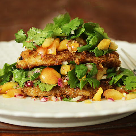 Chipotle Swai Fillet with Rainier Cherry Salsa