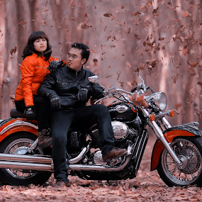 lets get tour of your life with me by Dimas Winarto - People Couples ( couple photography shadow honda )