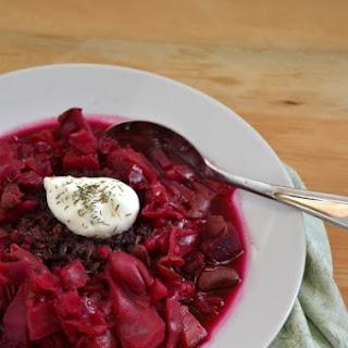 Vegetarian Borscht Dill Recipes