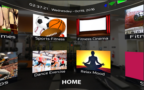 MyFit VR screenshot for Android