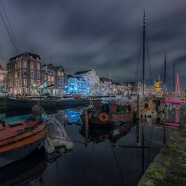 Rotterdam Delfshaven by Henk Smit - City,  Street & Park  Historic Districts